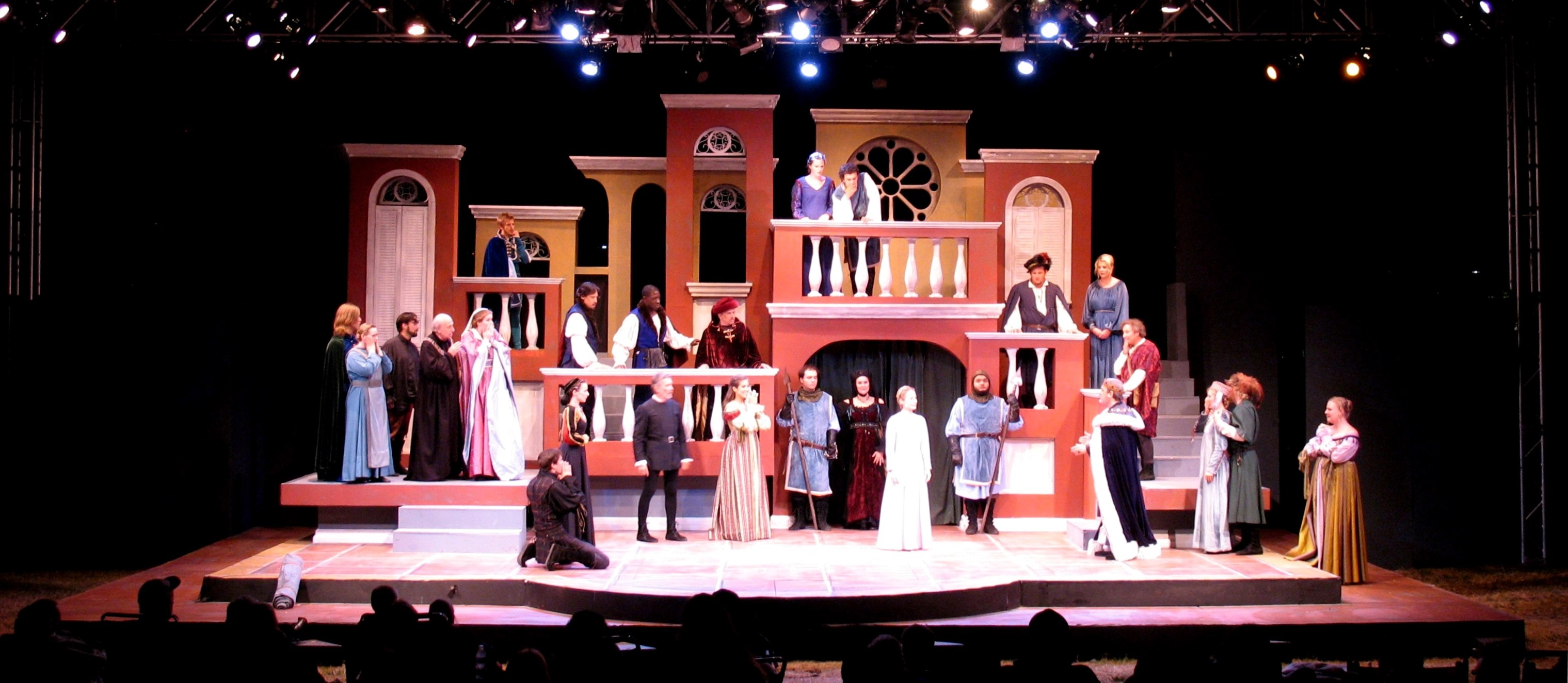 SCENIC DESIGN: All's Well That Ends Well Kingsmen Shakespeare Festival 2009