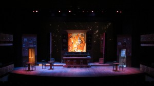 SCENIC & LIGHTING DESIGN: Picasso at the Lapin Agile Whittier College 2013